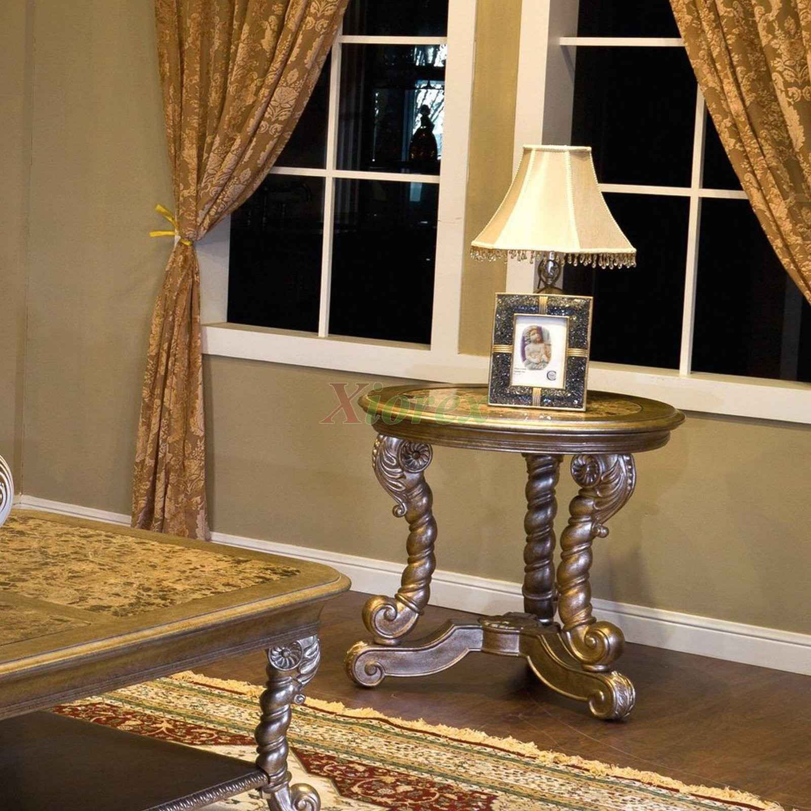 Alya End Tables Toronto With Faux Marble Table Tops Xiorex