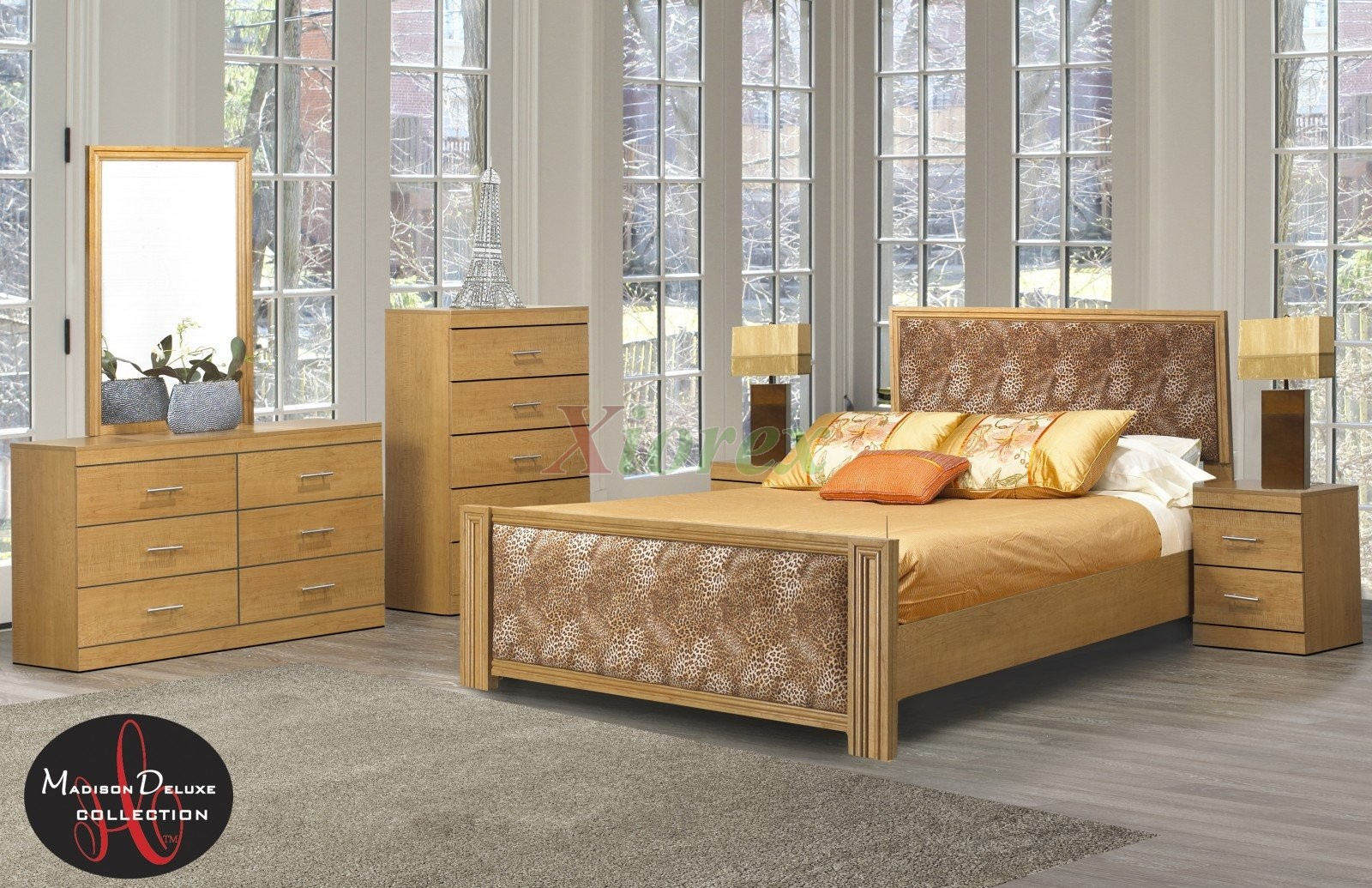 Bed frames life line madison twin full queen king bed sets for Queen bed frame and dresser set