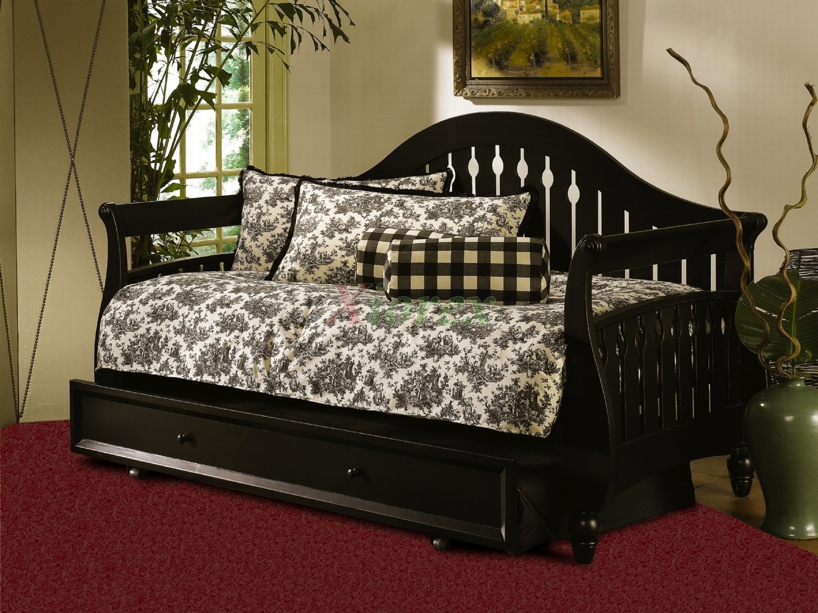 Fraser Daybed By Fashion Bed Group W Front Panel Amp Lowboy