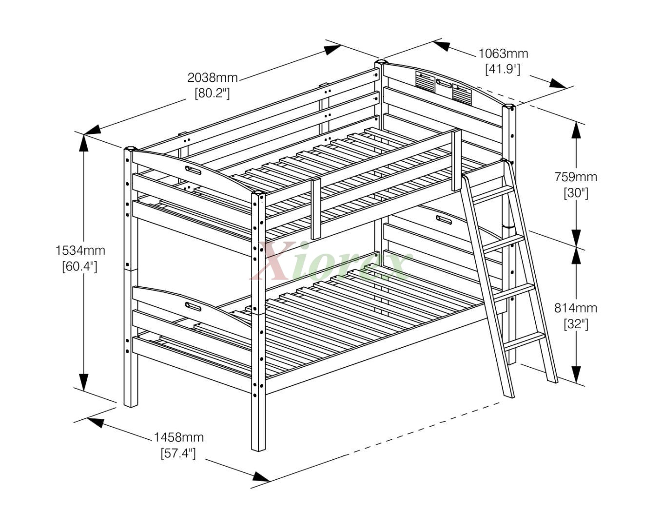 Plans For Twin Bunk Beds on bed into sofa