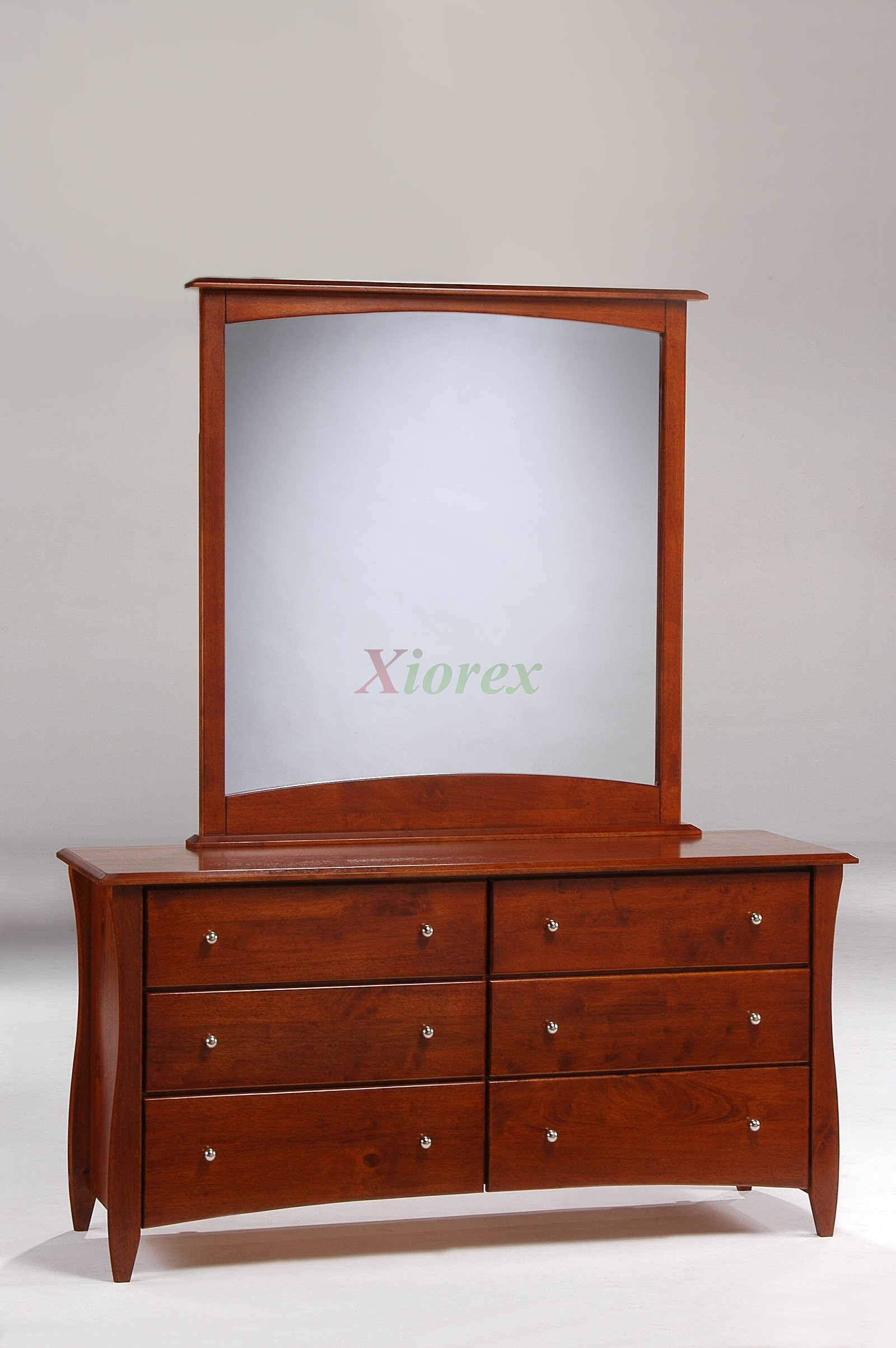 Clove Dresser And Mirror Cherry For Nu0026D Spices Bedroom Sets | Xiorex ...