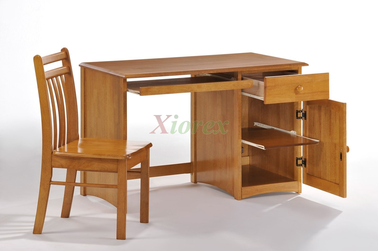 Clove Student Desk Open Chair Medium Oak For Es Bed Sets Xiorex