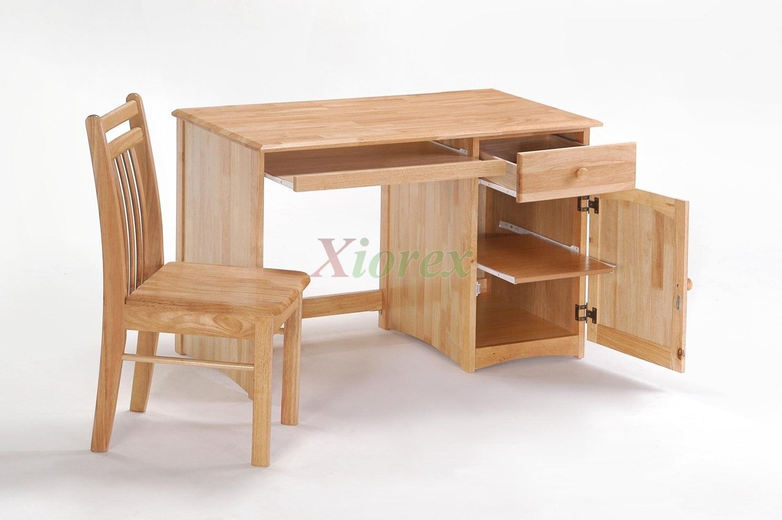Clove Student Desk Open Chair Natural For Es Bedroom Sets Xiorex