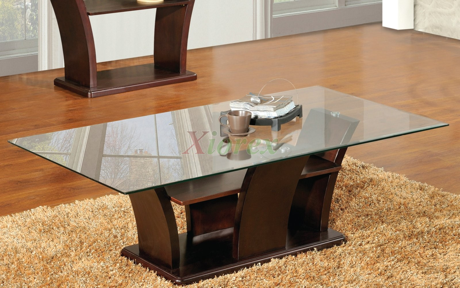Columba Table Top Glass Coffee Table Toronto Xiorex