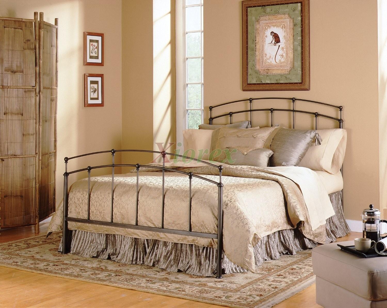 Black Metal Twin Bed Frame