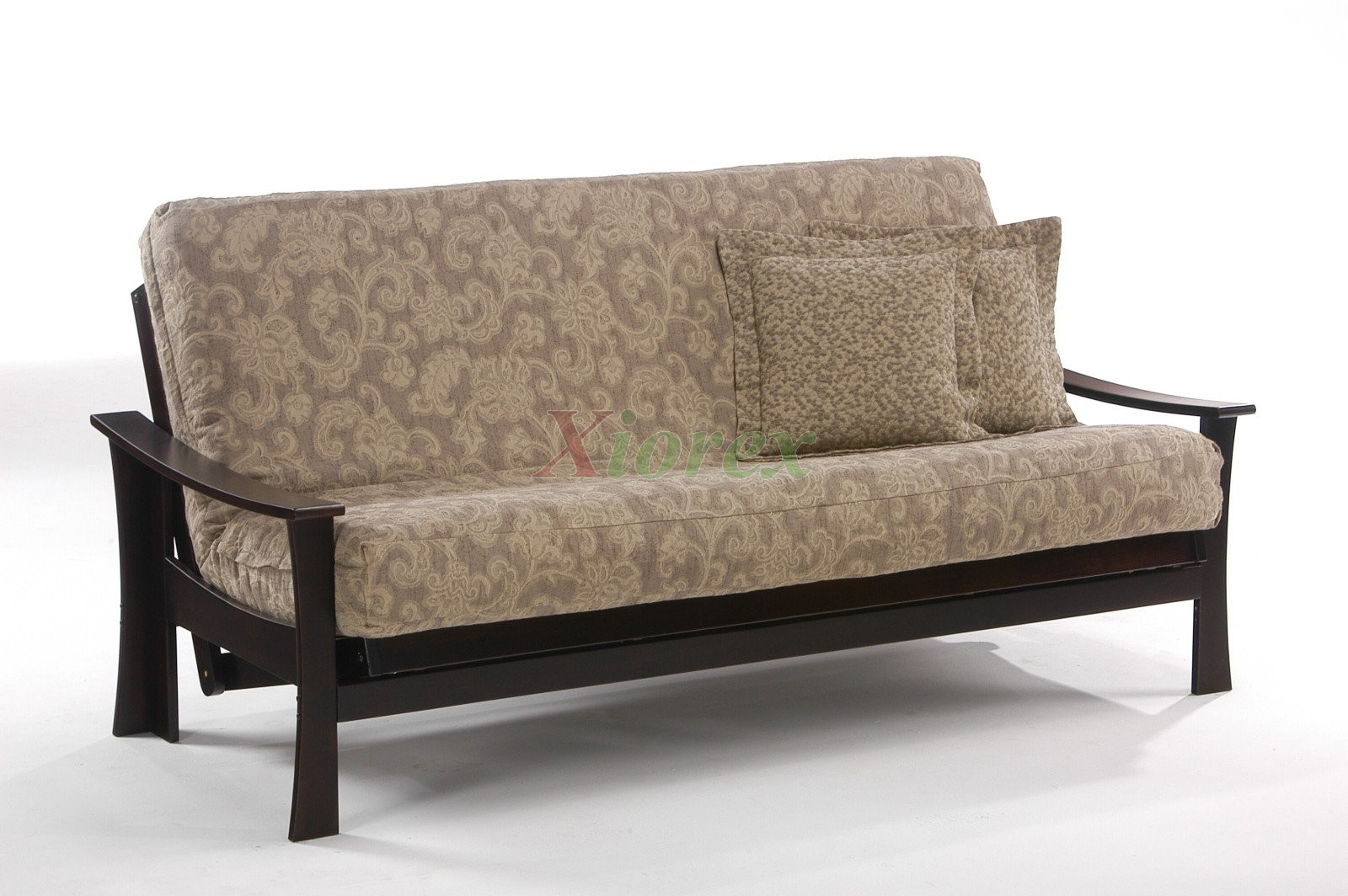 Fuji Futon By Night And Day Sofa In Dark Chocolate Xiorex
