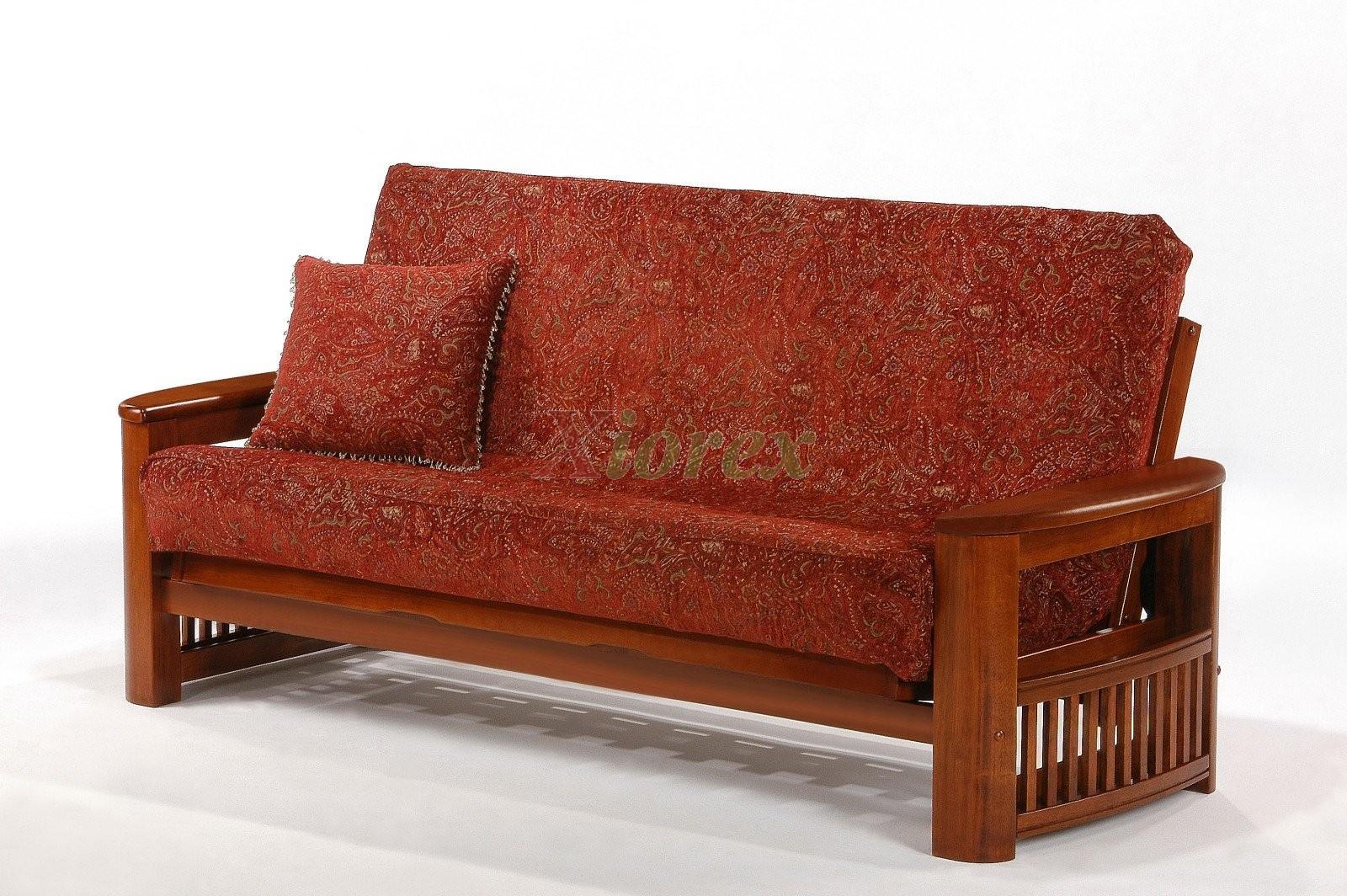 futon furniture night and day shadow futon cherry   xiorex shadow futon furniture night  u0026 day shadow futon w storage box   xiorex  rh   xiorex