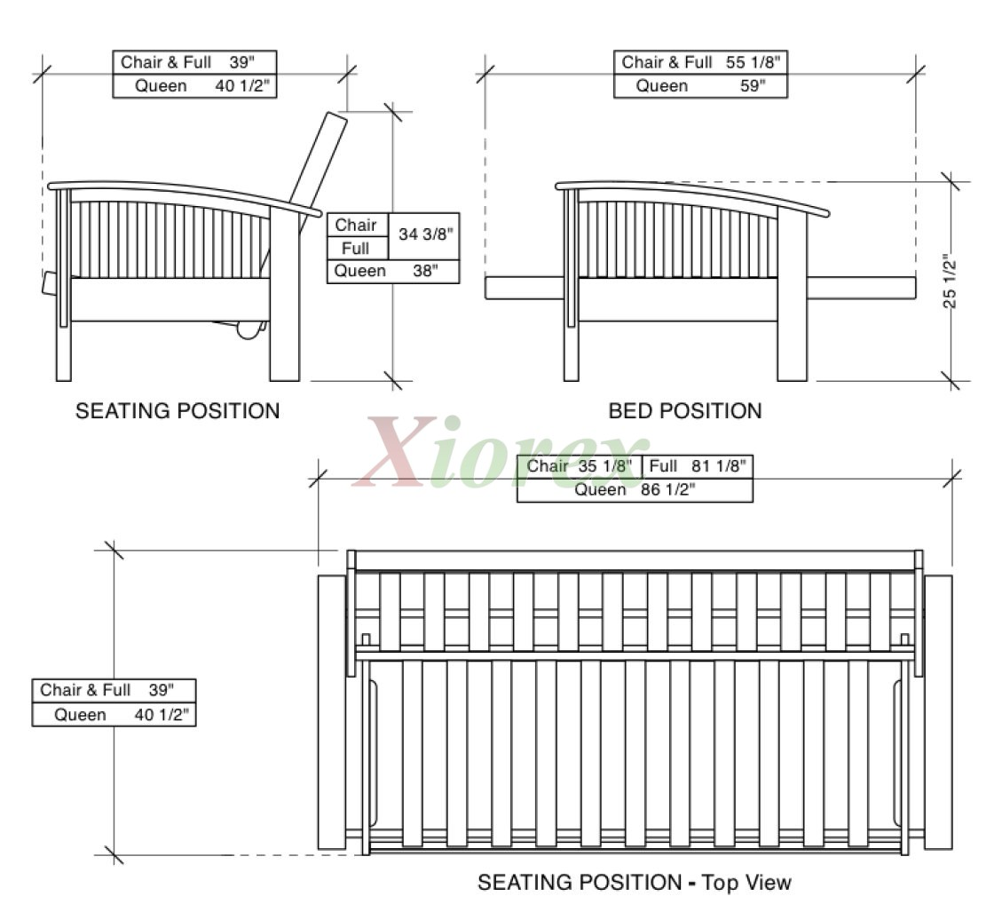 Futon Sizes For Winchester Beds By Night And Day Furniture Xiorex
