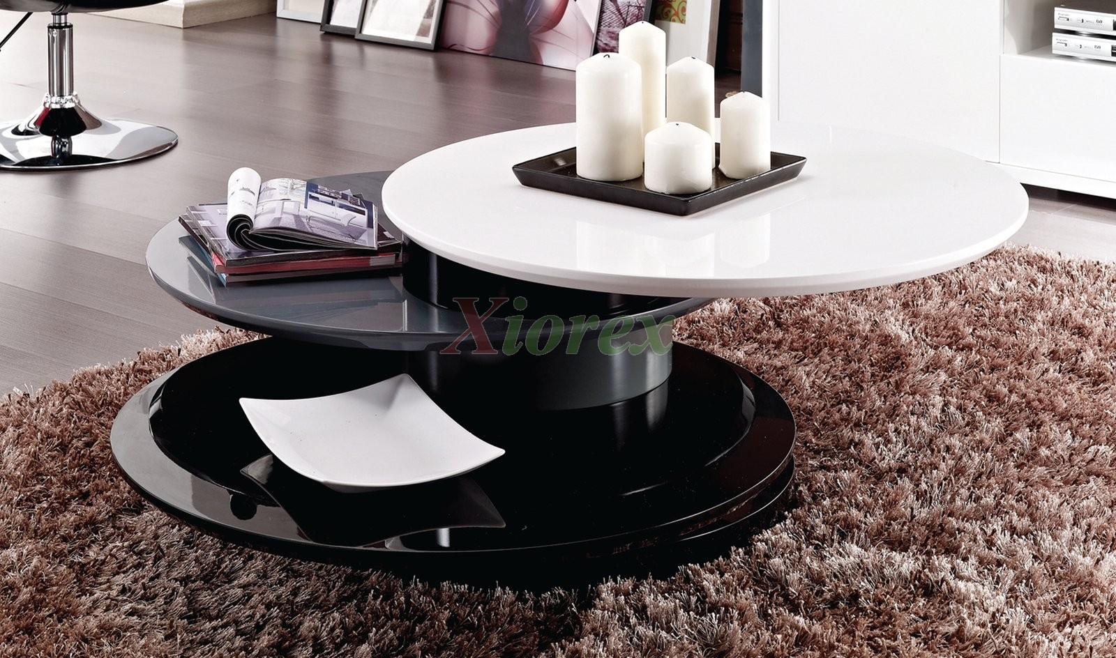 Round Modern Coffee Table Coffee Drinker