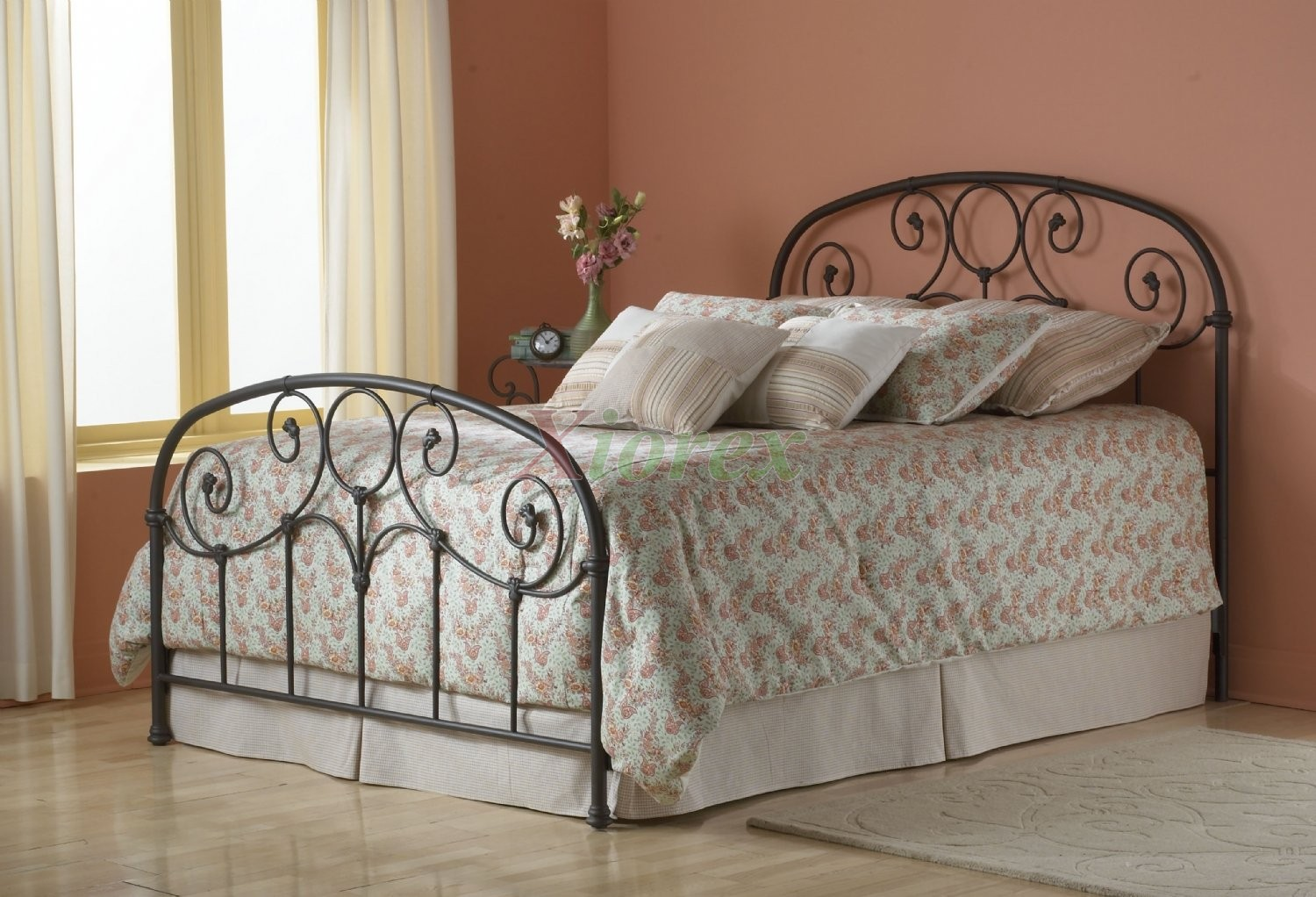 Twin Bed Iron Headboard