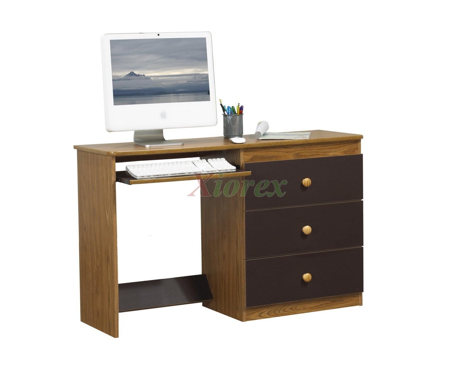 Life Line Computer Desks White Black Cherry Maple Red