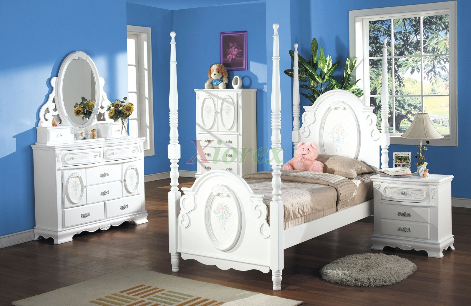 Kids Princes Poster Bedroom Furniture Set 173 Xiorex