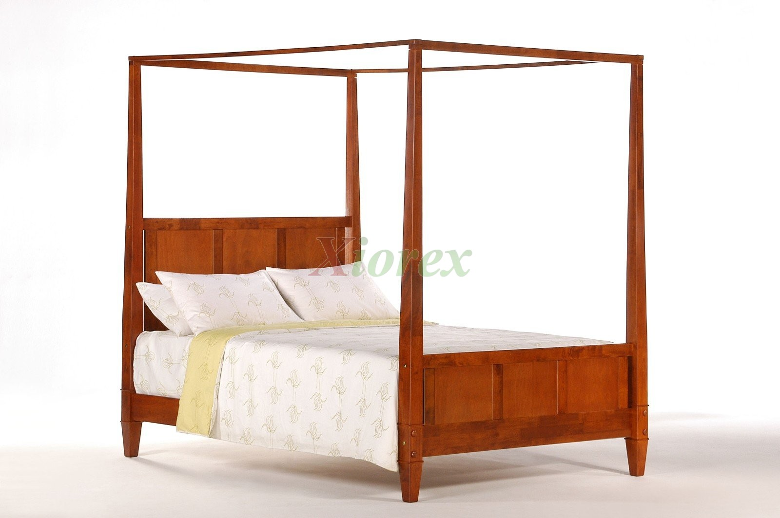 Laurel Bed Cherry By Night And Day Xiorex Bedroom Furniture Canopy