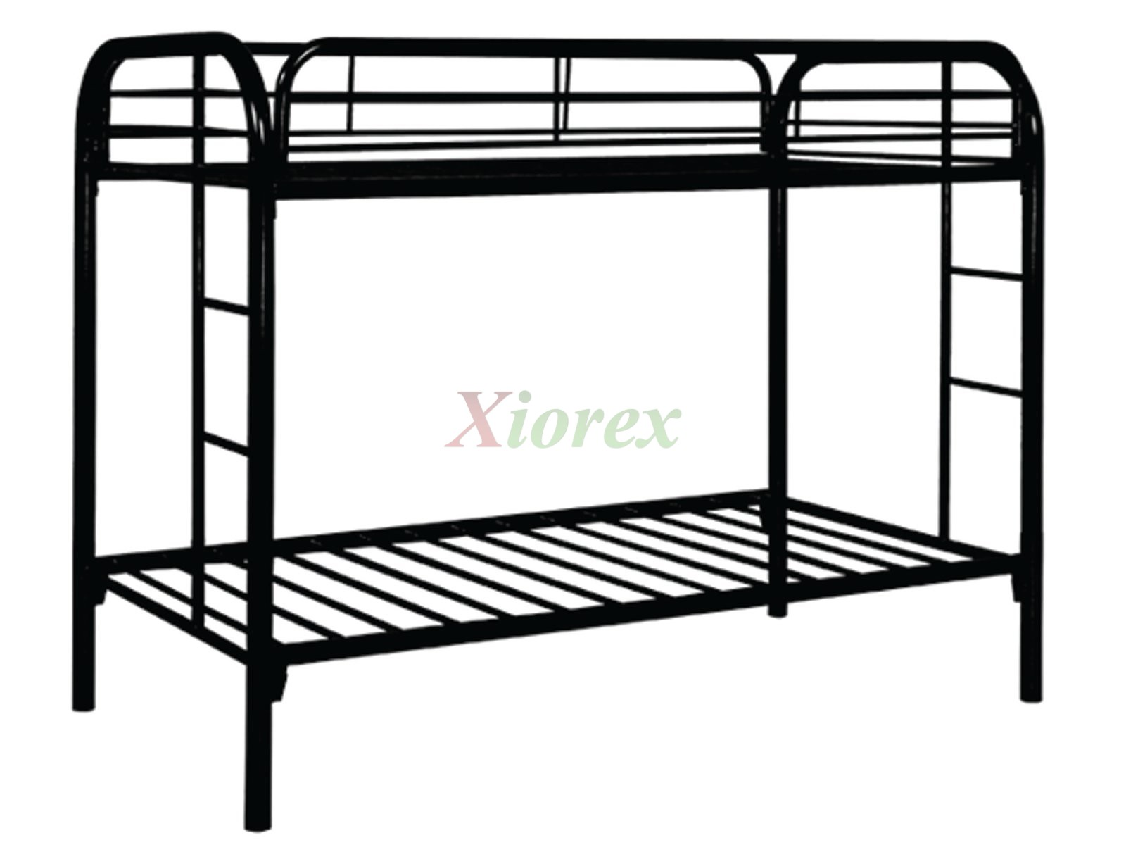 Metal Bunk Bed Helps Save Substantial Room Space