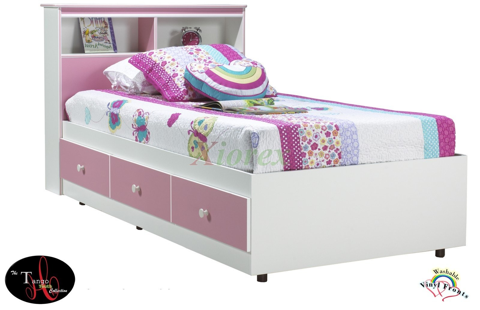 More Views Boys Girls Twin Mates Bed Double Queen Tango Beds