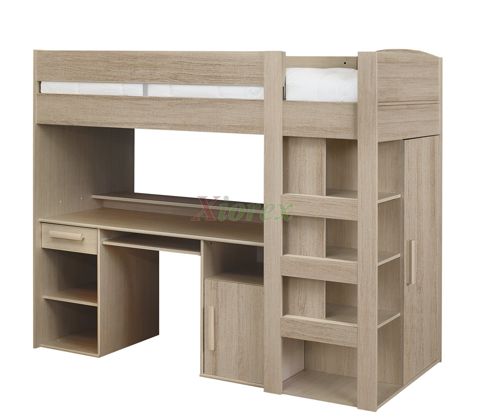 Bunk beds with desk and closet - Montana Loft Beds With Closet And Desk By Gautier Furniture Xiorex