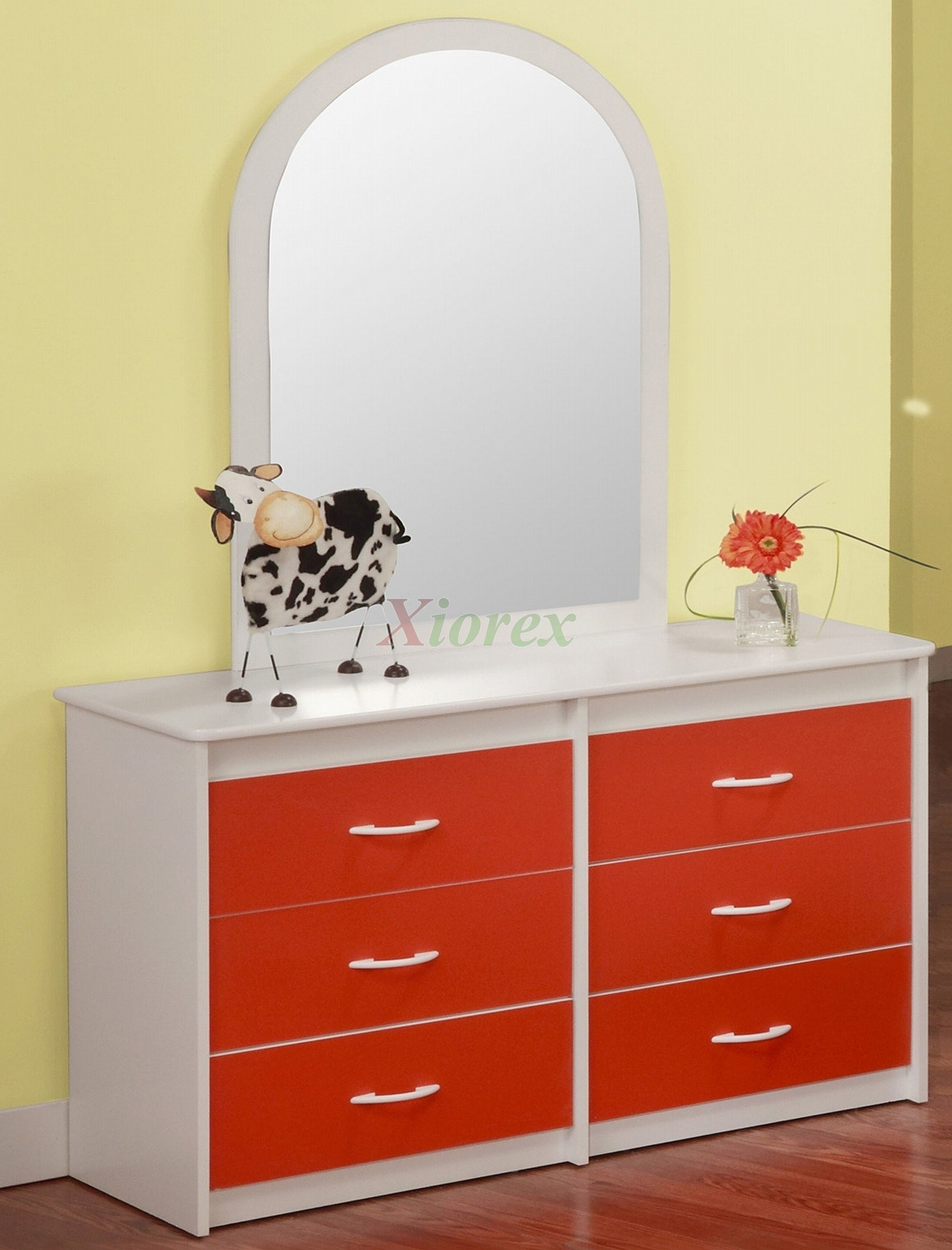 Orange White Dresser For Kids Life Line Tango Xiorex