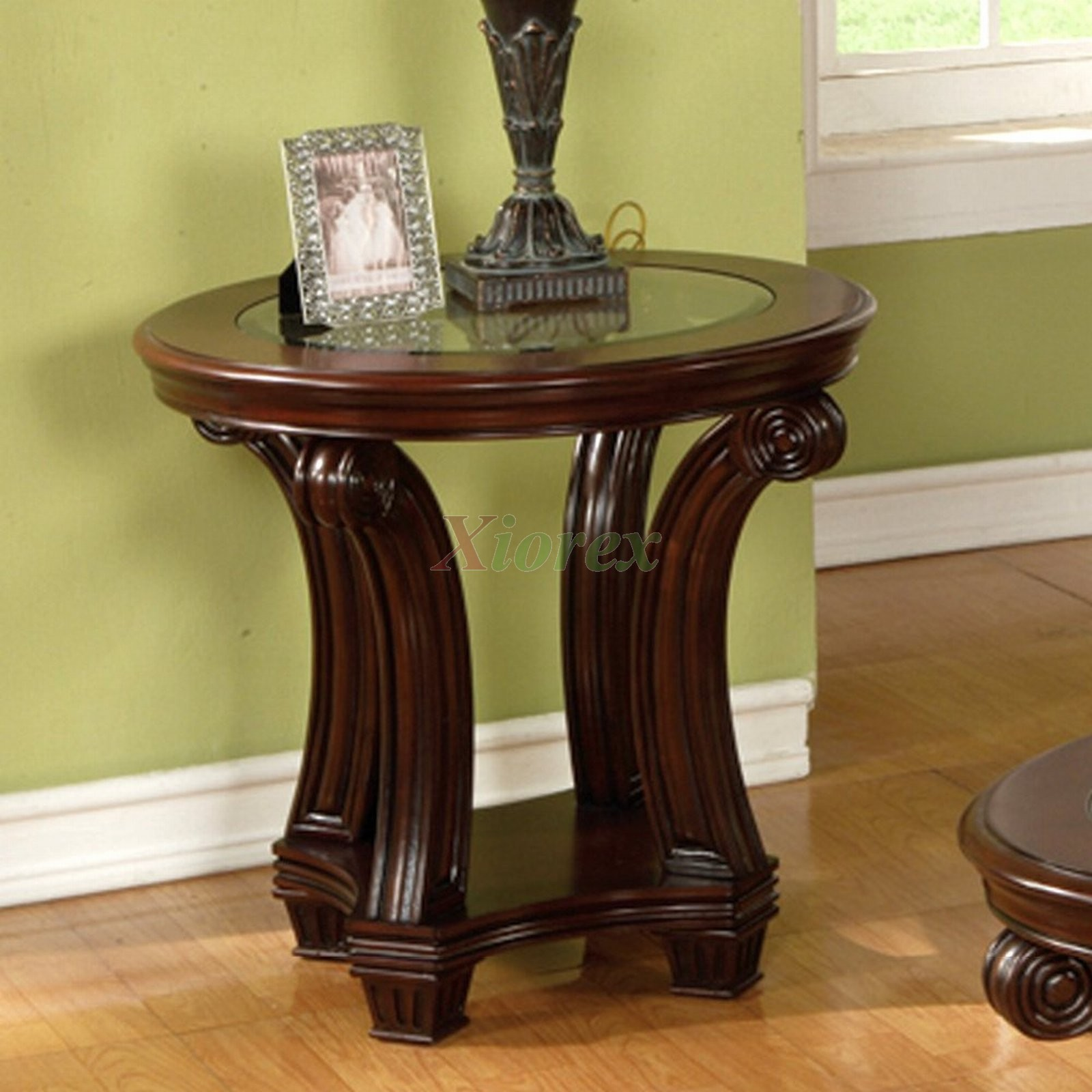 Perseus Round End Table Living Room Furniture Montreal Xiorex