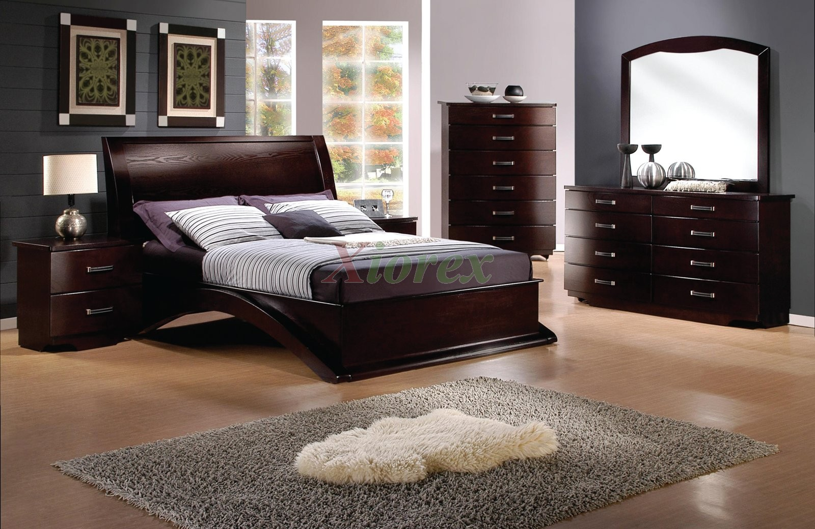 Platform Bedroom Furniture Set Xiorex