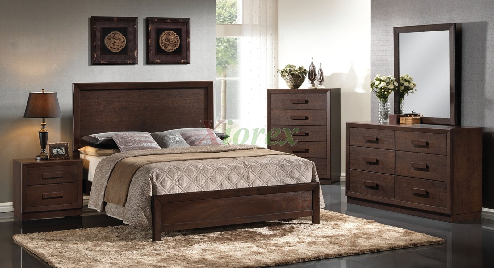 Contemporary Platform Bedroom Furniture Set 150 Xiorex Not Available
