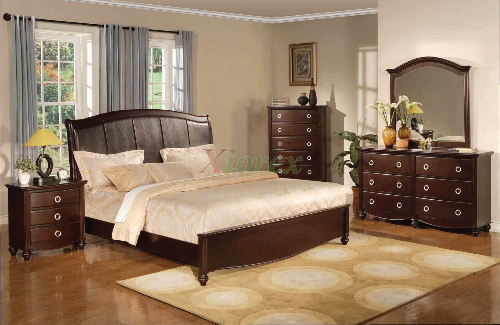 Platform Bedroom Furniture Set With Leather Headboard 133 Xiorex. Bedroom Sets With Leather Headboards   Headboard Designs