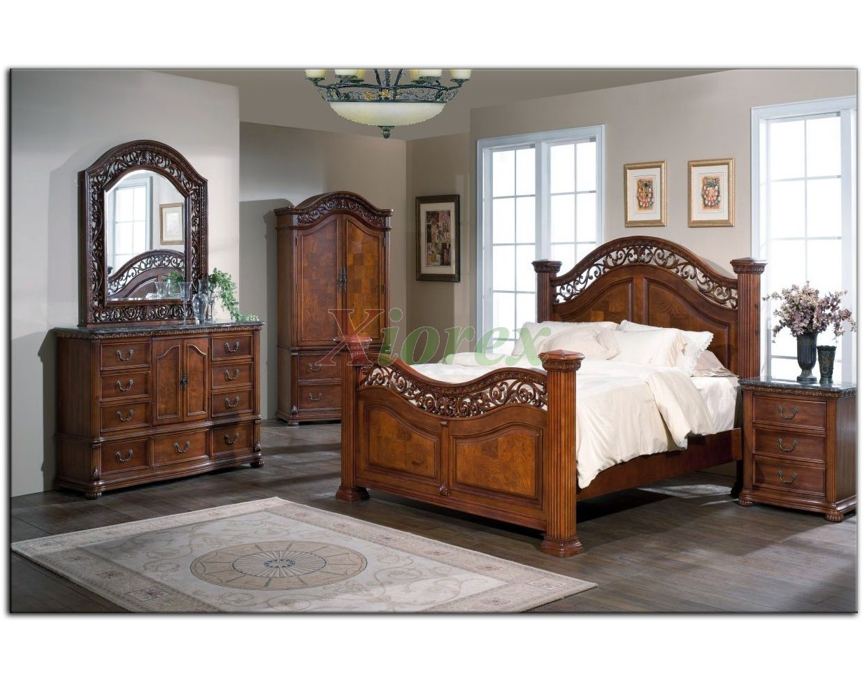 Bedroom Sets For Small Bedrooms: Poster Bedroom Furniture Set 114