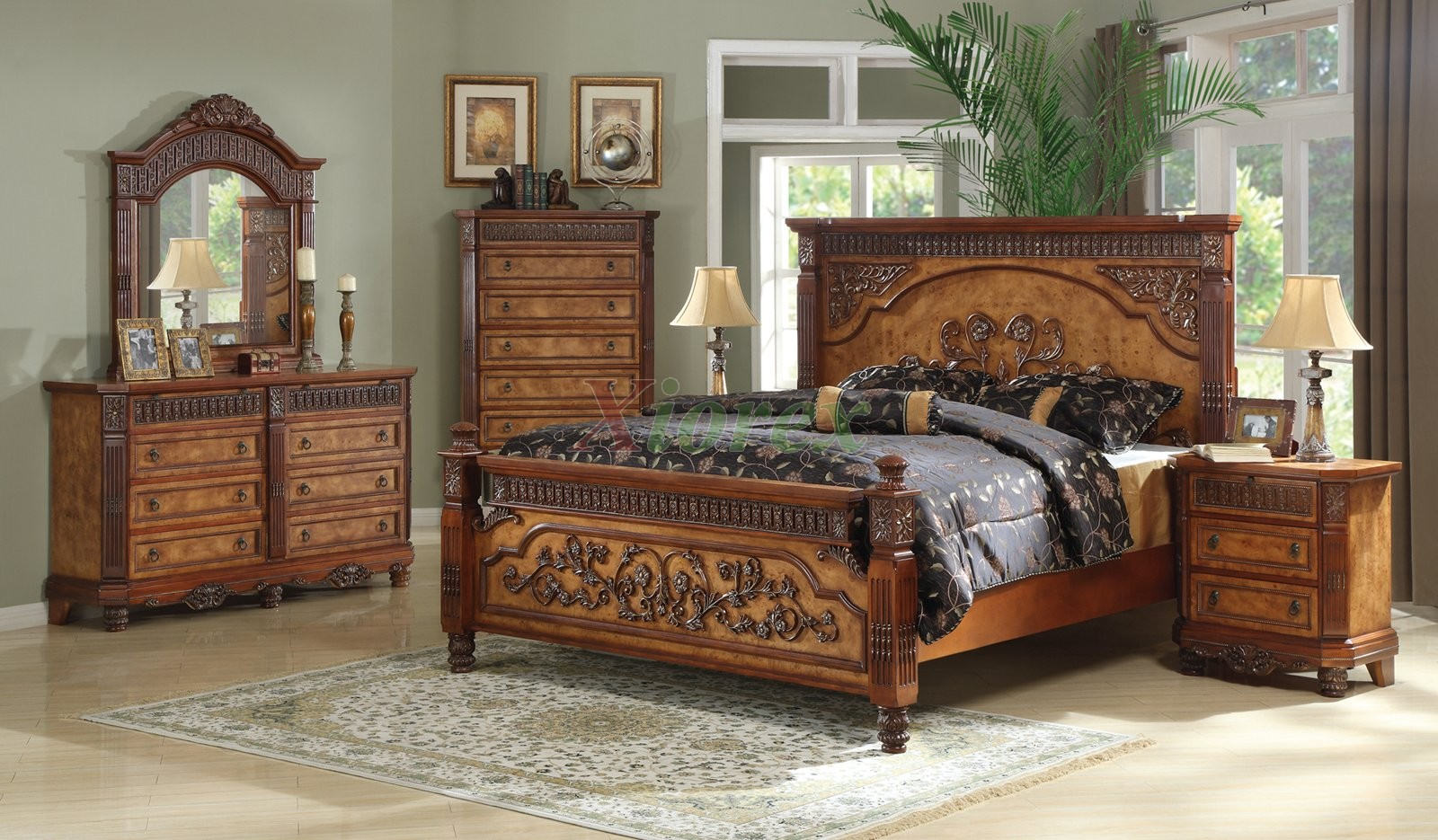 Poster Bedroom Furniture Set 125