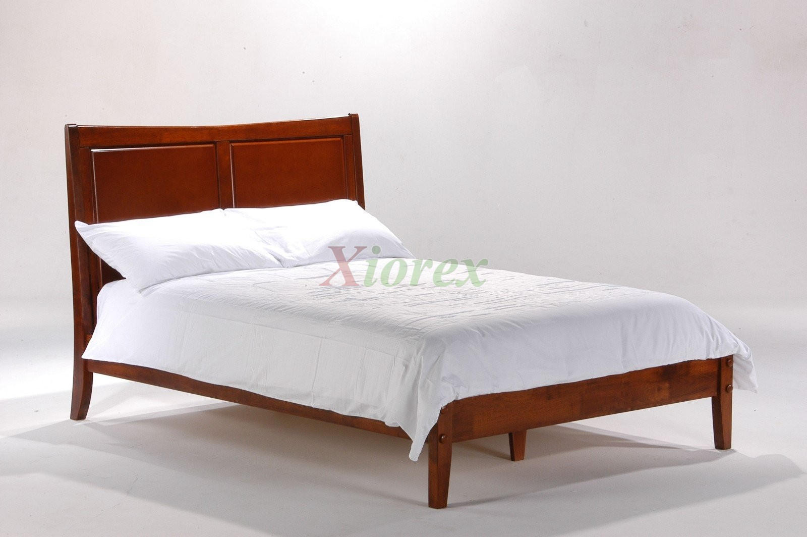 saffron solid wood bed in cherry by night and day furniture xiorex