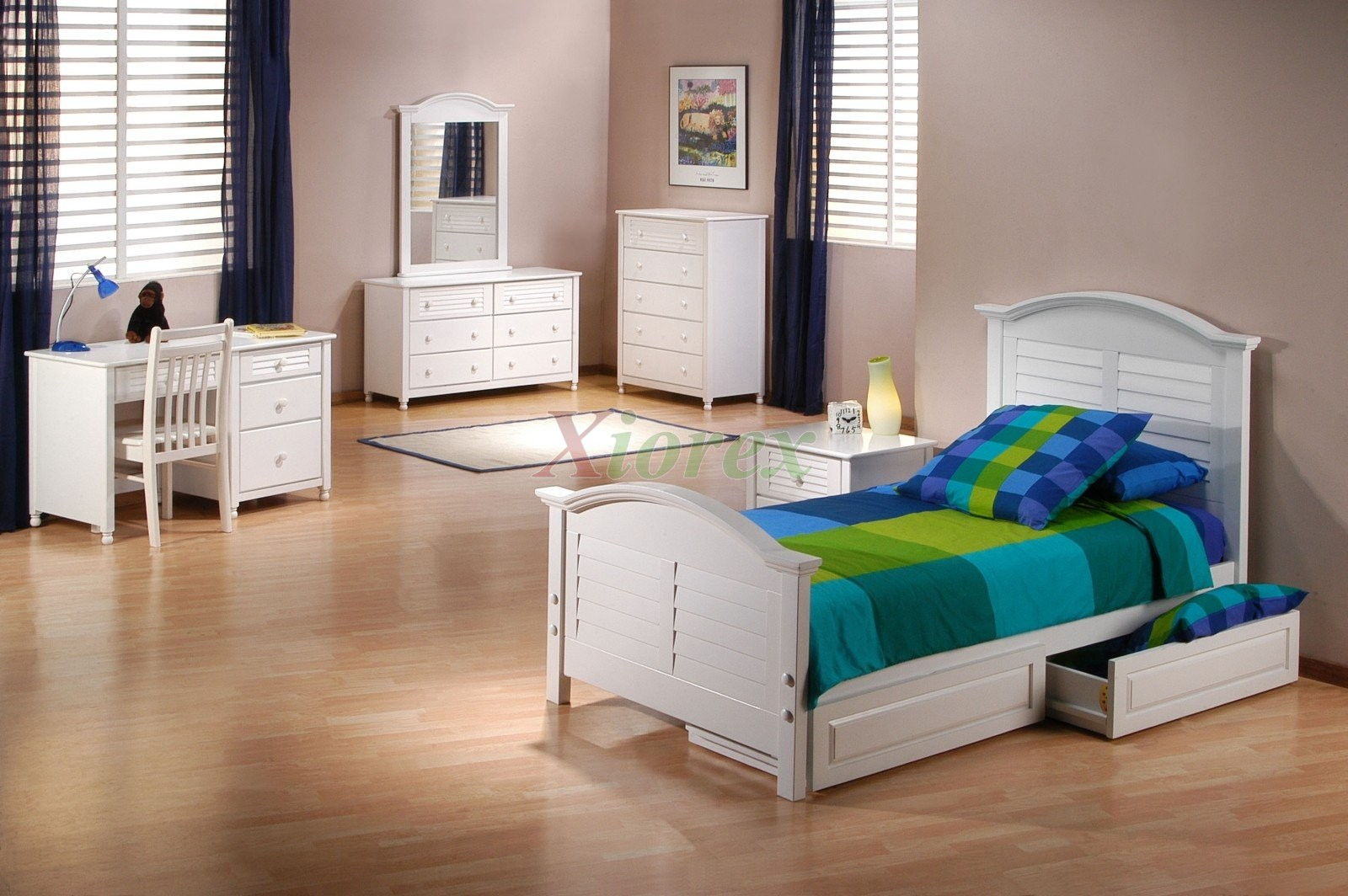 Sandpiper Bed Suite From Key West Collection By Night And Day Xiorex White