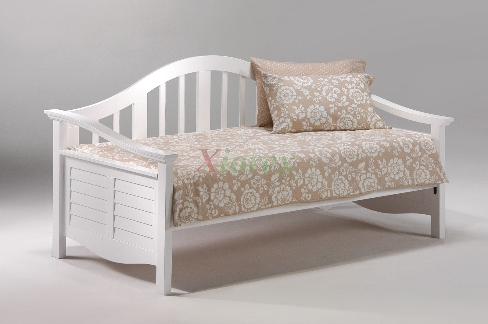 seagull daybed twin size white day bed with trundle bed. Black Bedroom Furniture Sets. Home Design Ideas