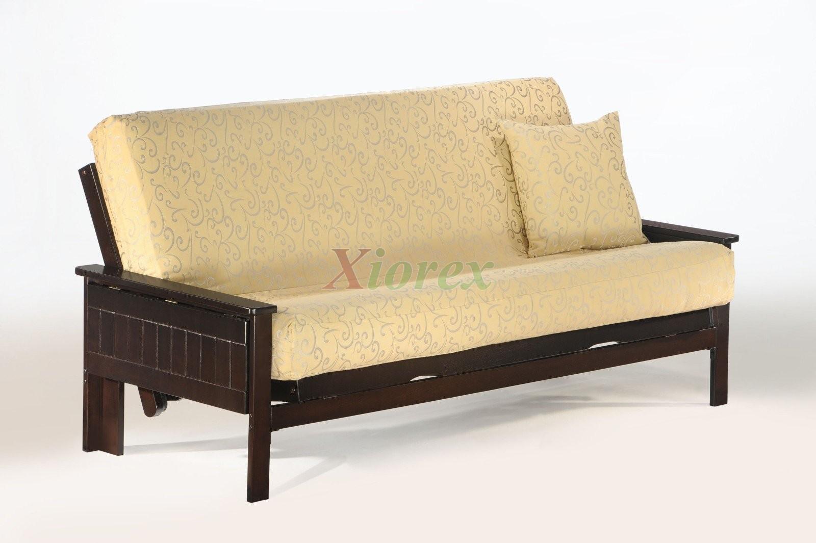 seattle futon by night and day dark chocolate futon convertible   xiorex night and day seattle futon convertible   xiorex  rh   xiorex