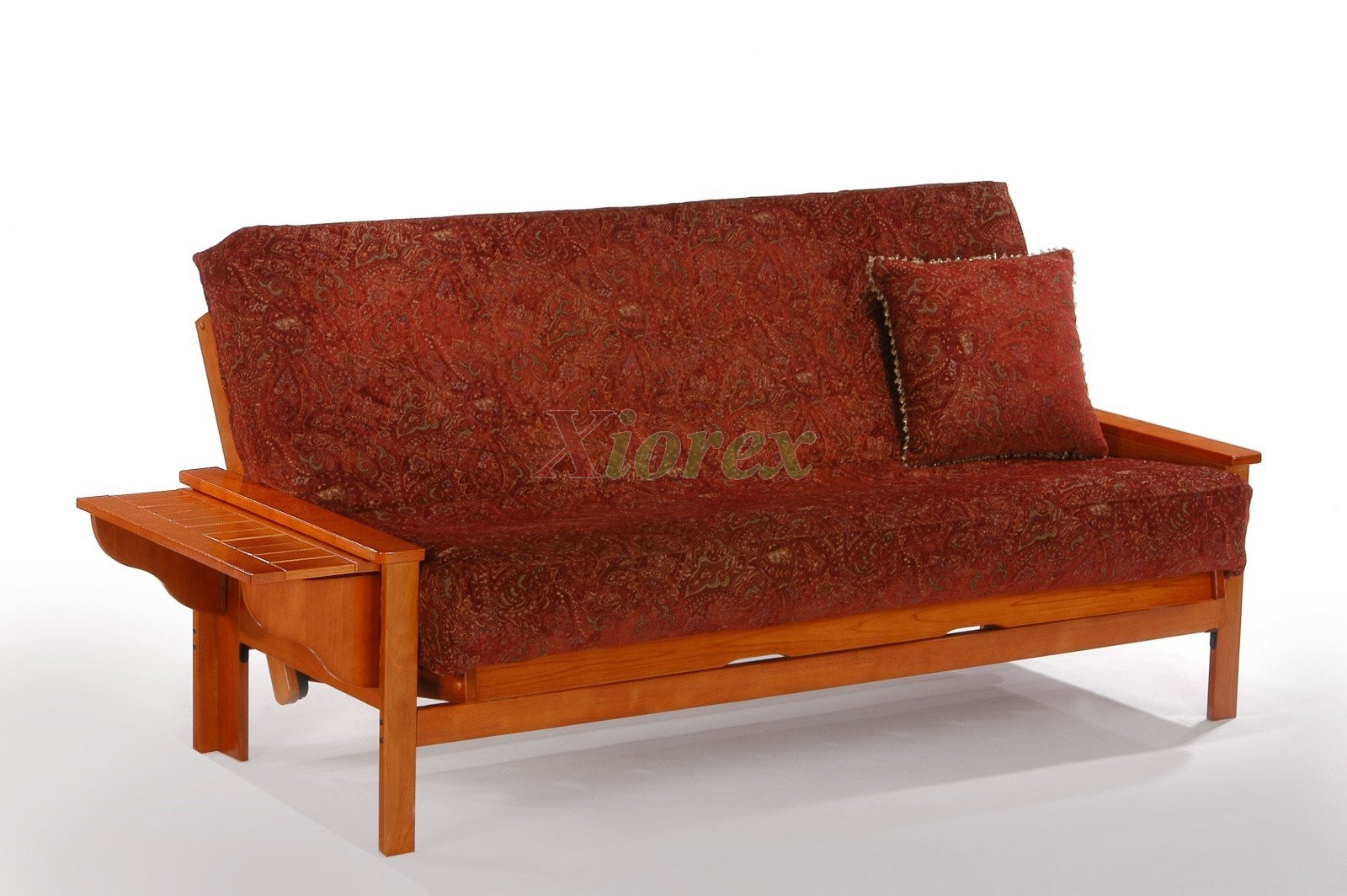 Genial Seattle Futon In Teak By Night And Day | Xiorex Futons Online