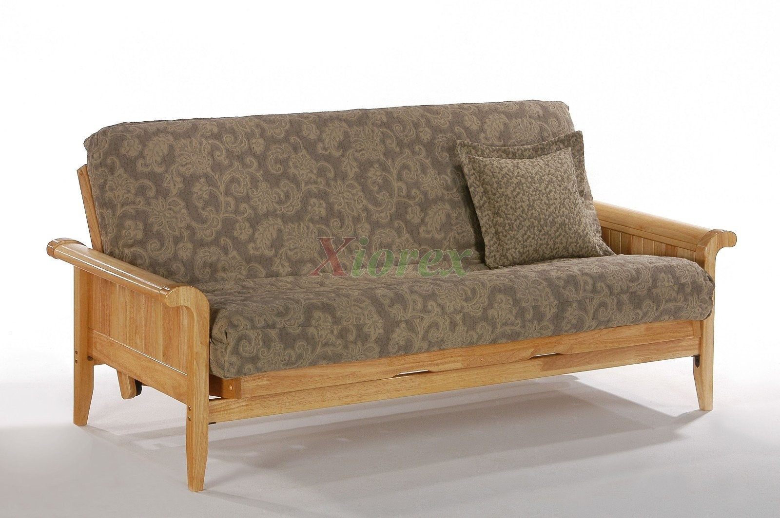 Night and Day Venice Futon Chic Futon Design with Sleigh Arms | Xiorex
