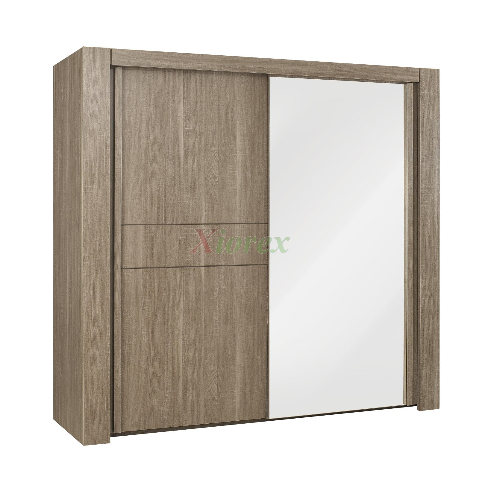 Sliding Door Wardrobe 98 In For Gami Moka Master Bedroom Set Xiorex