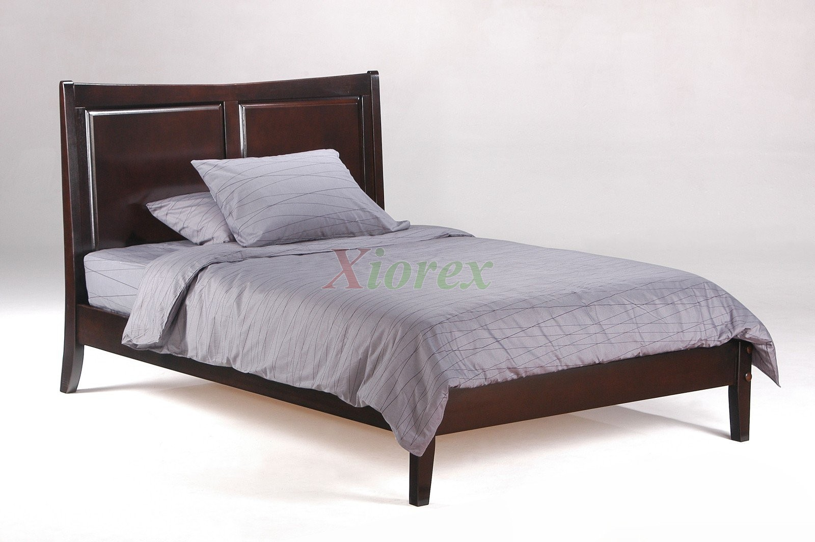 solid wood bed saffron bed in darck chocolate by nightandday xiorex