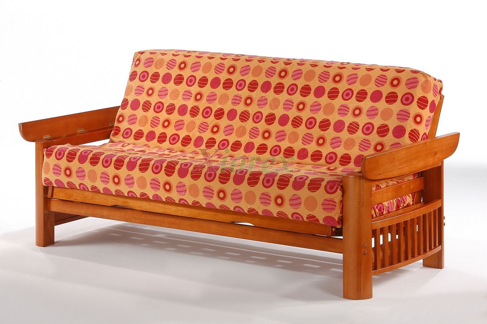standard futon sofabed night and day portofino futon teak   xiorex night and day portofino futon sofabed honey oak natural rosewood teak  rh   xiorex