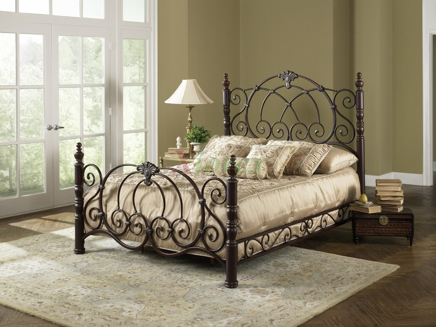strathmore bed poster bed w side rails by fashion bed group xiorex - Fashion Bedroom Furniture