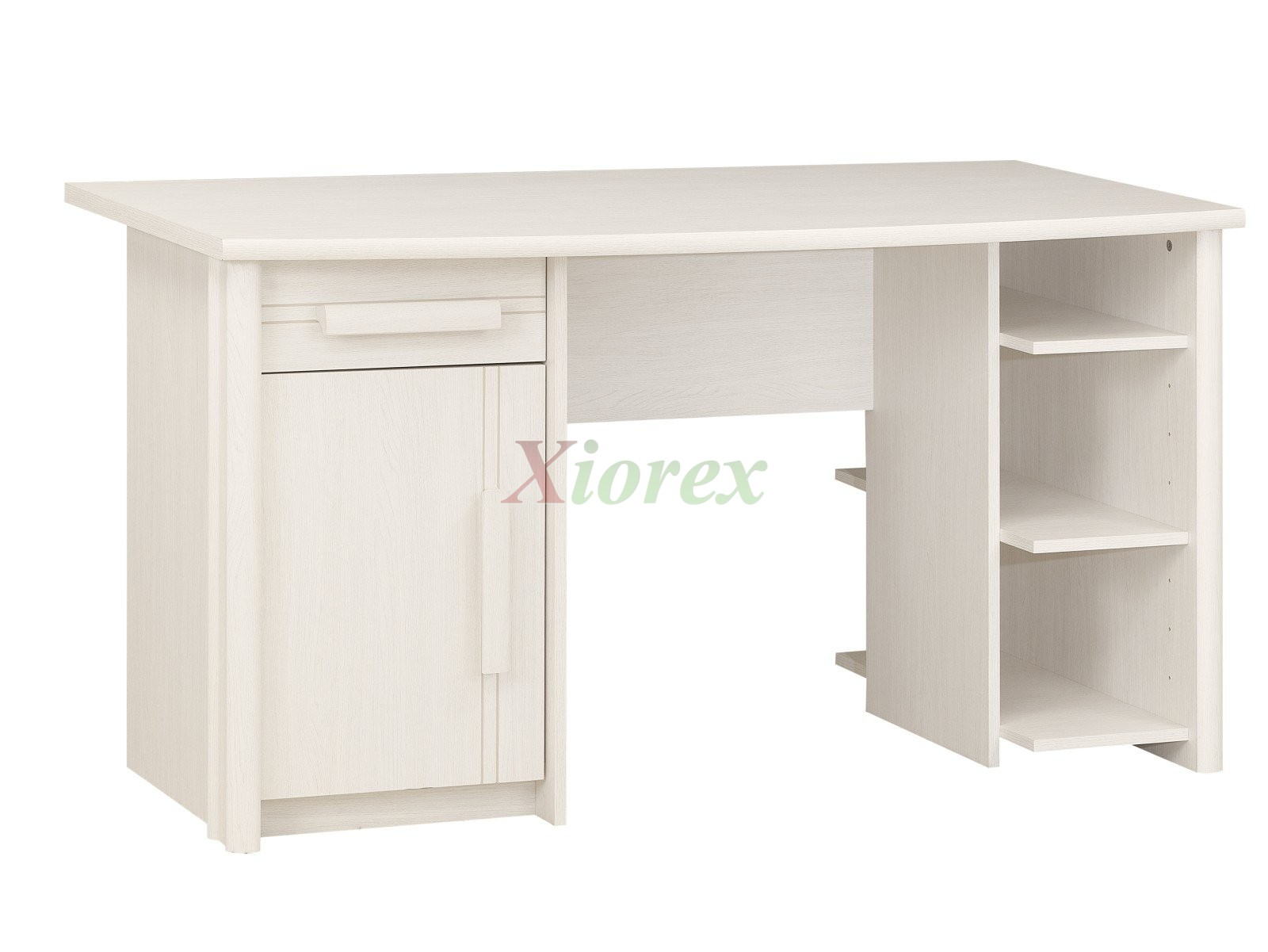 Student Desk Gami Montana In White Effect Ash Xiorex