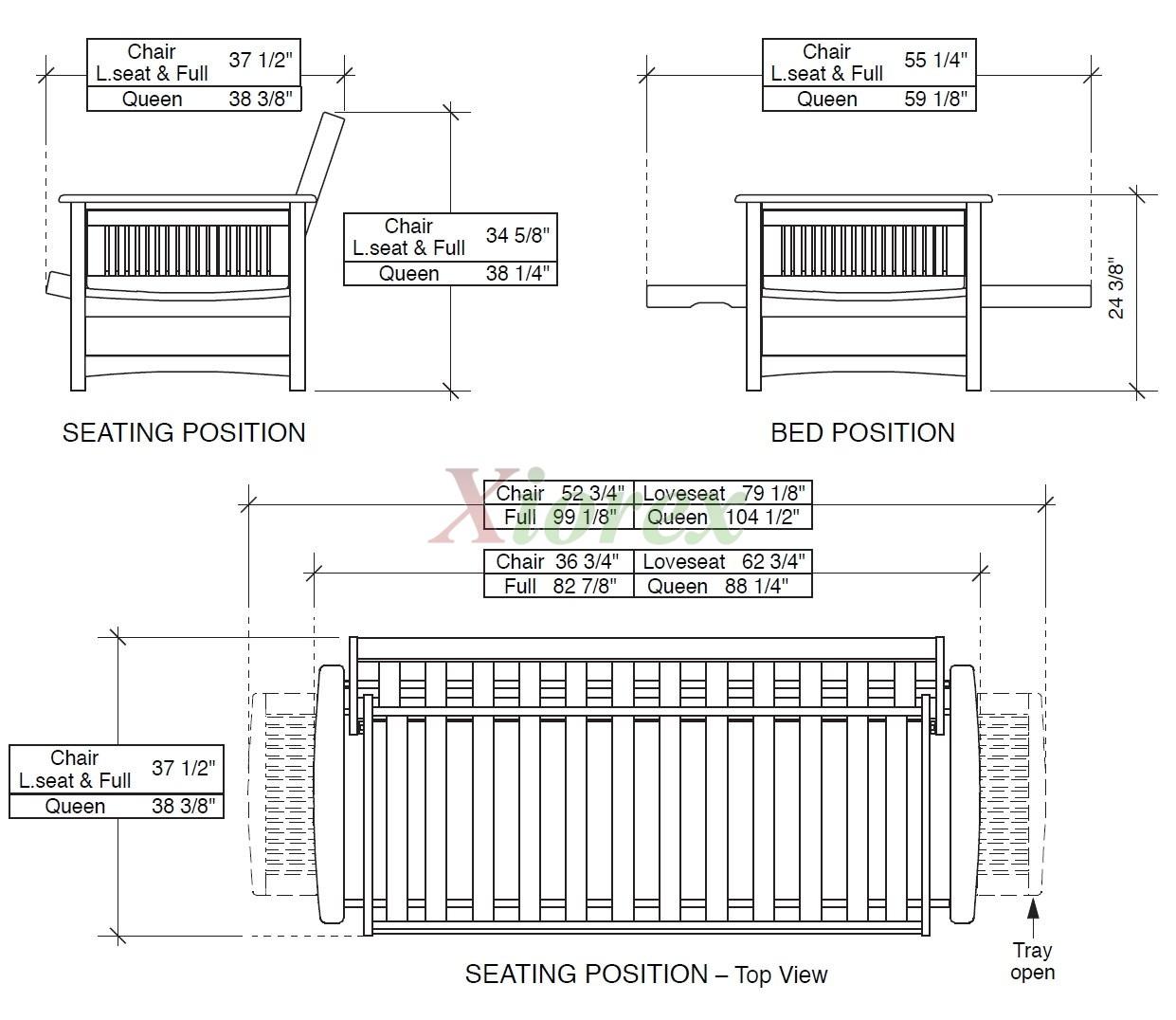 Sunrise Premium Futon Furniture Dimensions N D Xiorex Futons Online