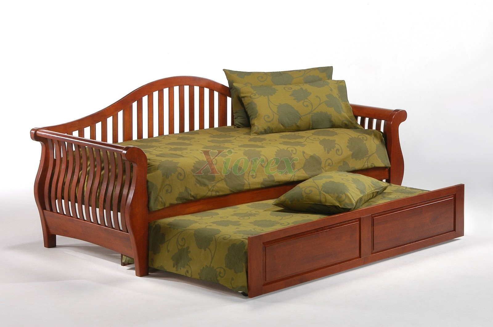 Trundle Daybed Night And Day Nightfall Cherry Xiorex
