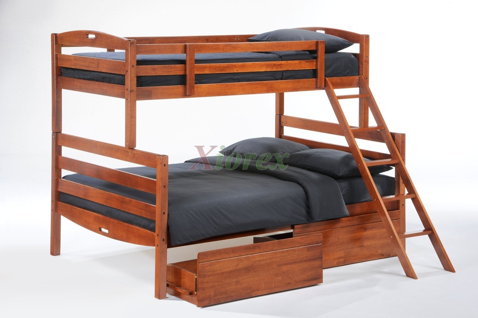 twin full cherry bunk bed w drawers for sesame bunk bed set xiorex