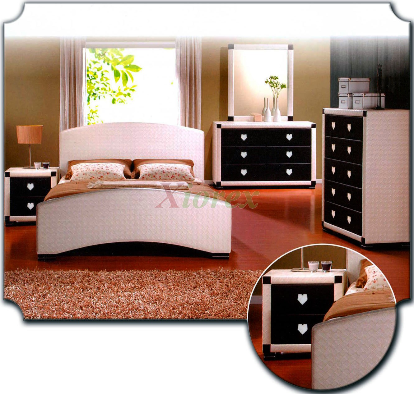 Upholstered Bedroom Furniture Set 158 | Xiorex
