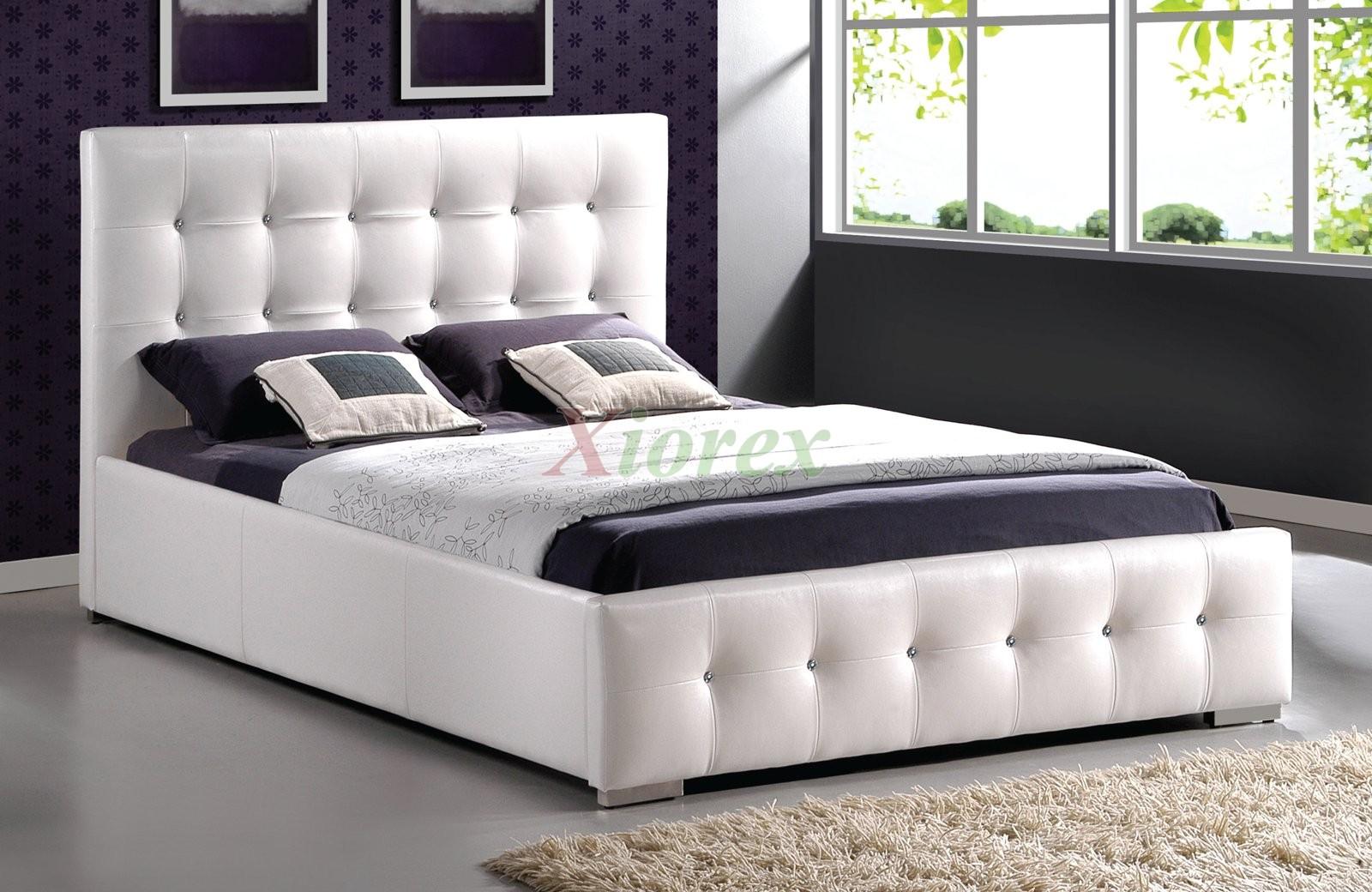 Upholstered Tufted Platform Bed Furniture 183 | Xiorex