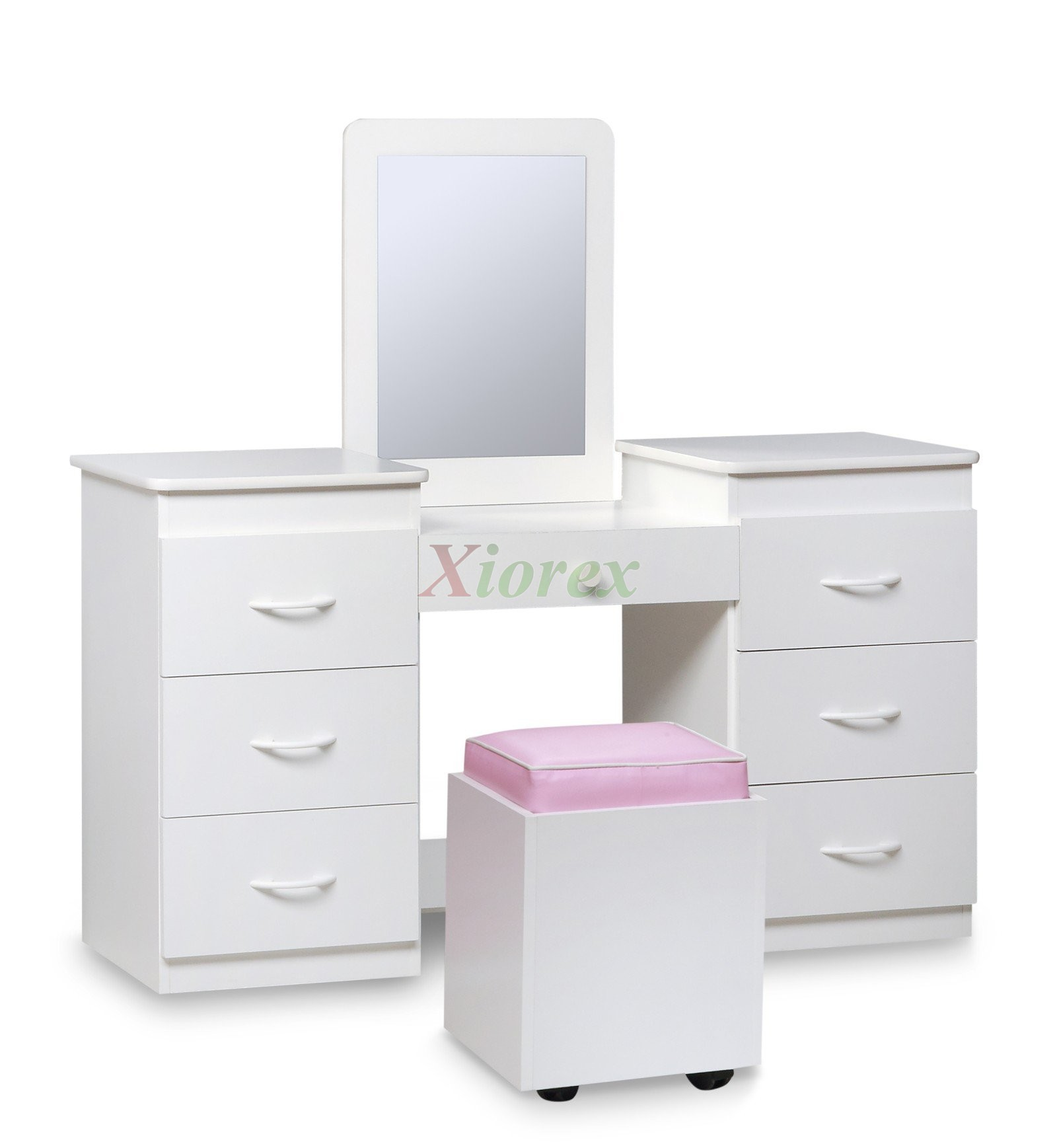 vanity set for teenager. Vanity Set White Table Mirror and Seat by Life Line  Xiorex Sets Tango Bedroom