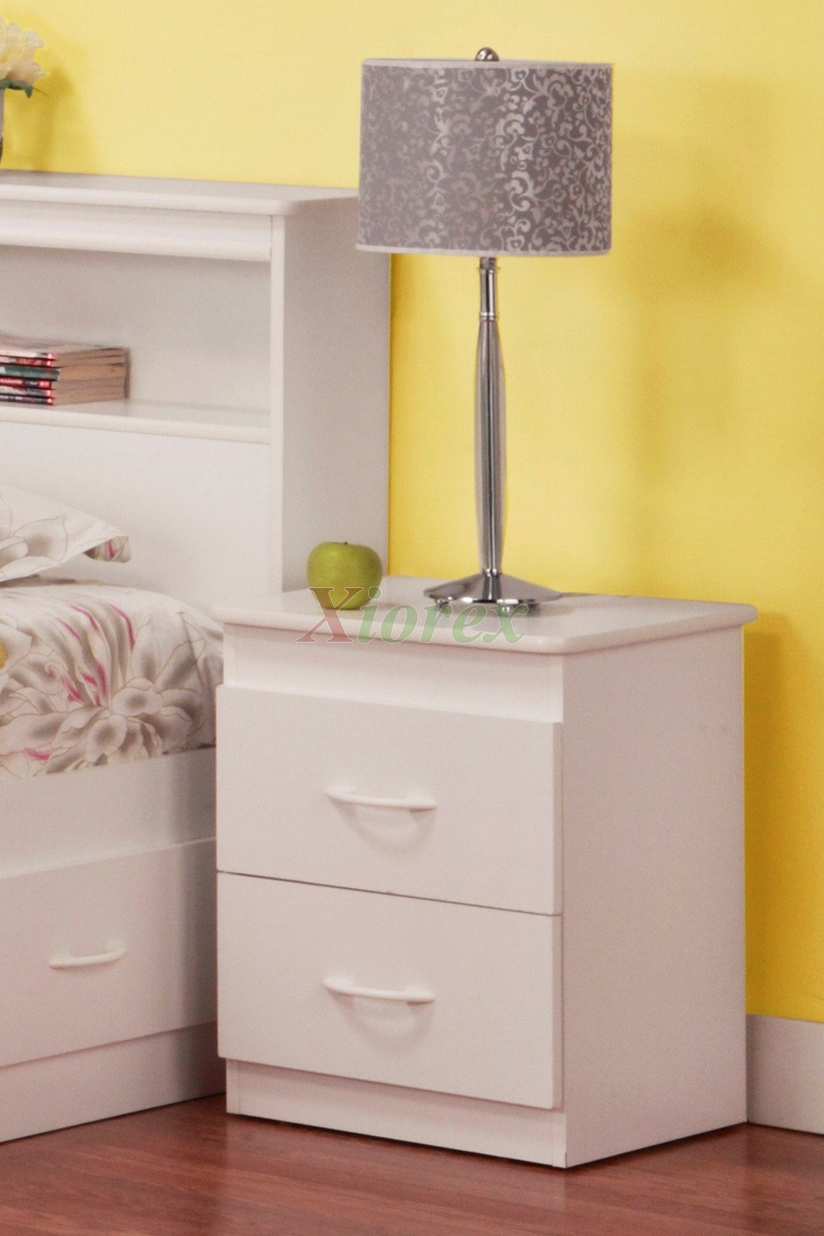White Bedside Table Life Line Tango Night Table For Kids | Xiorex