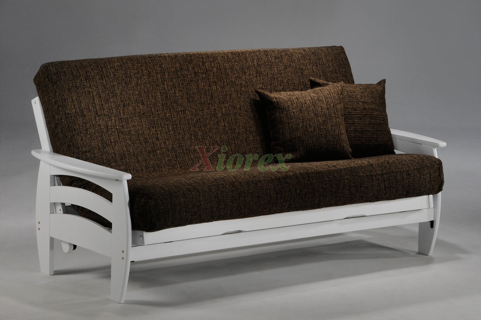 White Futon Couch Night And Day Corona Frame Xiorex