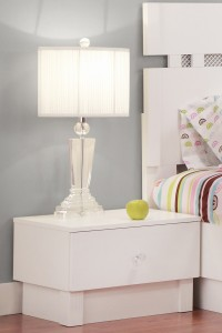 Nightstands Life Line Tiffanie Vinyl Front Nightstands | Xiorex