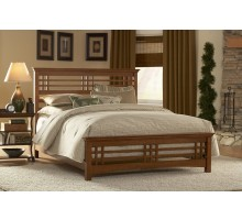 Avery Bed - Oak Finish Bed in Full Queen & King by Fashion Bed Group