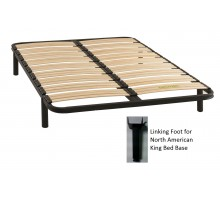 Bed Bases Gami Bed Base 27 Slats w Soundproofing Sockets | Xiorex