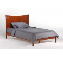 Bed for Blackpepper Bedroom Sets - P Cherry Full Bed by Night & Day